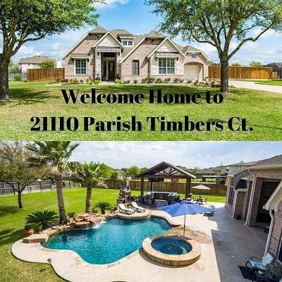 21110 Parish Timbers Court, Cypress, TX 77433