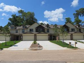 Newly Constructed Town HomesAcross the street from Lake Conroe with a Water View