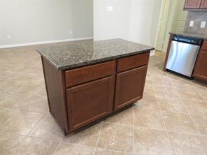 Kitchen Island with Granite and extra storage