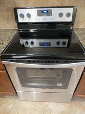 Stainless Steel Smooth Top Electric Range