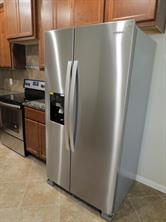 Stainless Steel Refrigerator is included