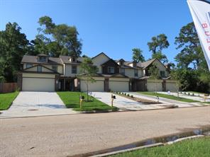 Beautiful New Town Homes on Marina Dr. overlooking Lake Conroe