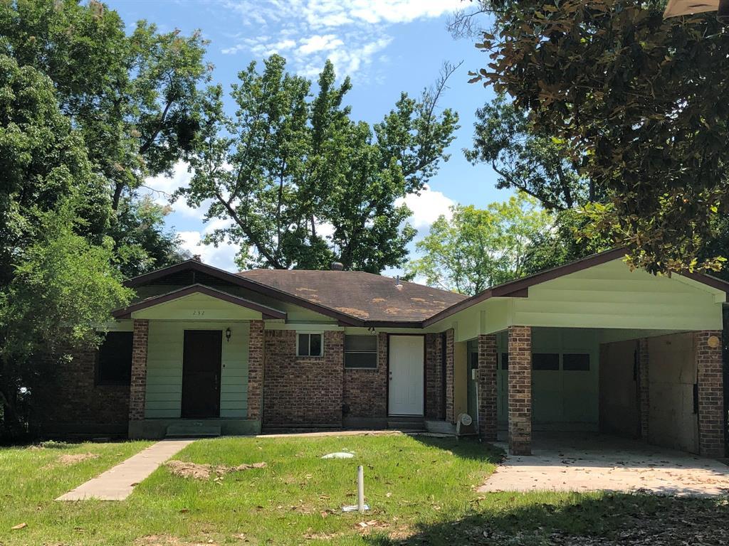232 Hideaway Lane, Goodrich, TX 77335