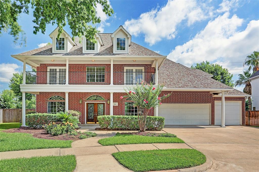 """Email us for a Full List of Renovations and Ages: RENOVATED + GORGEOUS GOLF COURSE VIEWS + #1 FAMILY NEIGHBORHOOD IN TEXAS = THE PERFECT HOME!  4 Bedrooms - Master Down - 3.5 Baths, 3-Car Garage and a Great Laundry Room! This Move-In Ready Gem is LOADED with 2019 Renovations! Stunning Grand Entry with Double Glass Leaded Doors. NEW HARDWOOD FLOORS in Foyer, Formal Living and Dining, and Study. New Interior Paint Throughout! Eat-In Island Kitchen has NEW Stainless Steel Appliances. Family Room complete with Built-Ins and Home Theater In-Wall Speakers w/ Wiring. NEW CARPETING in Bedrooms! HUGE Game Room Upstairs with Entertainment Built-Ins and Wet Bar. Fantastic Storage Throughout.  Gorgeous Windows with Custom Solar Screens. Amazing Golf Course Views + Balconies Front and Back. Beat the Summer Heat with the Additional 12"""" Insulation in the Attic + Radiant Barrier. Zoned to Amazing """"A"""" rated schools! Dickinson Elementary is one of the top elementary schools in Texas."""