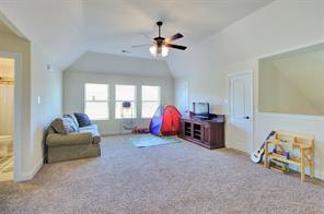 Upstairs - great for a hang out room for the kids, a game room or whatever the needs of your family are.