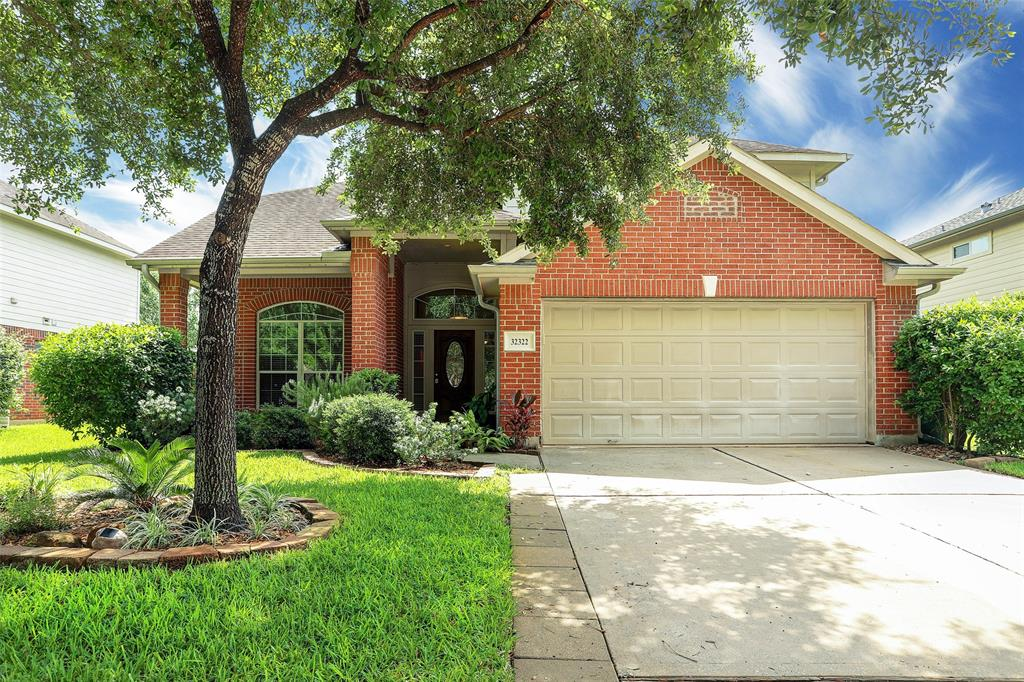 Remarkable 2-story home in desirable Imperial Oaks boasts an open floor plan w-laminate flooring, stainless-steel appliances in a kitchen that opens to the breakfast nook & bar. The large living area w gas fireplace offers convenient access to the nice-sized backyard. With a formal dining that can be used as study or play room, this fine home is a rare find! Owners' retreat downstairs w-spa-like master bath is complete w-tub, separate shower, dual vanities, & spacious walk-in closet. Three sizable bedrooms on the 2nd floor surround a spacious flex room. Fully fenced backyard boasts covered patio & plenty of space for entertaining family & friends. The neighborhood provides outstanding amenities including community pools, playgrounds, tennis courts, soccer fields, and clubhouses! The nearby facilities add to the enjoyment of living in a friendly community. Zoned to Conroe ISD schools, home offers a premier location w-easy access to major highways & right across from a neighborhood park!