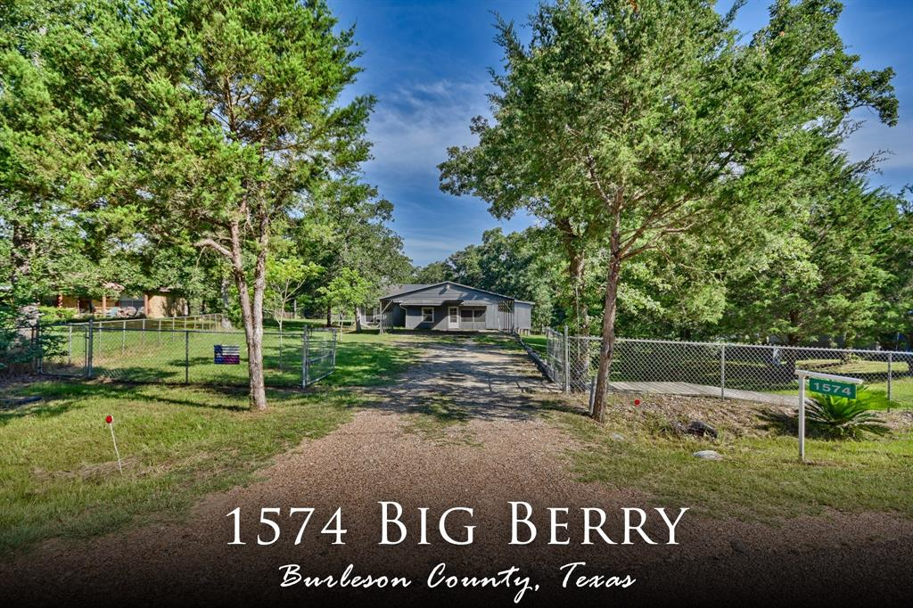 1574 Big Berry Road, Somerville, TX 77879