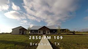 2850 Fm 109, Brenham, TX, 77833