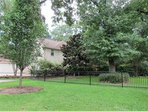 Lot next to the home is landscaped,  fenced and included in the price of the home.
