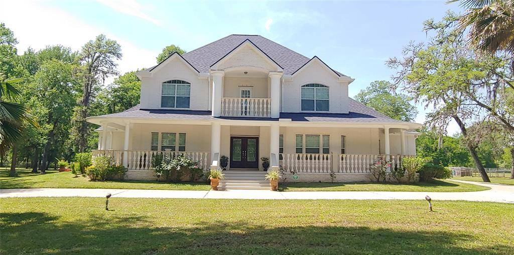 """Exceptional 3,700 (Living) Sq. Ft., 5,400 (Covered) Sq. Ft. Custom Home on a Captivating 8.5 Acres. Beautiful Detached 800 Sq. Ft. Apartment. Spectacular (inside) 2,880 Sq. Ft. 9 Horse Barn. Large 1,800 Sq. Ft. Shop/Garage. Lighted Roping/Riding Arena. Excellent Condition 4WD Kubota Tractor w/Loader. Round Bale Hauler. Additional farm equipment included.  Includes the ADDITIONAL 7 ACRES with the DETACHED APARTMENT, BARN, SHOP, LIGHTED ARENA, etc. RECENTLY INSTALLED: New Roof - Energy Star Reflective Roof, (3) New High Efficiency HAVC (Main Home), (1) at the Detached Apartment and New Leafless Gutters at the Main Home..all under warranty. Custom Built Oak Cabinets, Granite, with Stainless """"KitchenAid"""" Appliances. Sprinkler System and Water Softener System. Alarm System - Owned. Briscoe Junior High / Foster High School."""