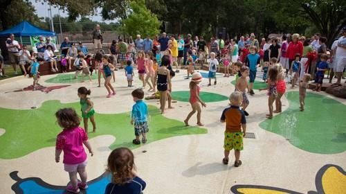 You'll love being able to walk to Jaycee Park with it's awesome splash pad.