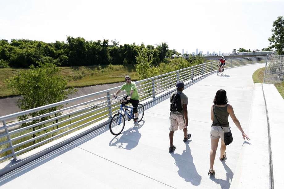 Ride your bike to White Oak Hike and Bike trail.
