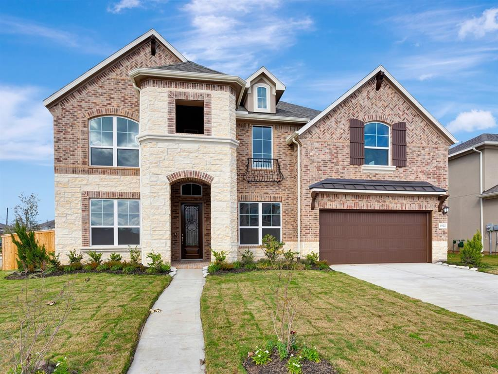 Brand NEW energy-efficient home ready September 2019! A gorgeous two story home with a beautiful two story entry and a large island kitchen with lots of granite counter-top space opening to high ceiling family room. Includes two bedrooms downstairs and three bedrooms upstairs with a game room and media room upstairs. This elegant plan features a balcony on the front and a large covered patio, sprinkler system in the front and back and many many more beautiful upgrades! Master-planned community has abundance of amenities; lakes & dedicated open spaces, parks & more. Known for their energy efficient features, our homes help you live a healthier & quieter lifestyle while saving thousands of dollars on utility bills.