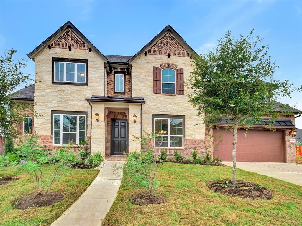 Brand NEW energy-efficient home ready NOW! A gorgeous two-story Rome home with a beautiful two-story entry, curved staircase and open concept kitchen and family room with volume ceilings and a large island kitchen with lots of countertop space opening to high ceiling family room. Includes two bedrooms downstairs and two bedrooms upstairs with a game room and media room upstairs. Sprinkler system in the front and back and many many more beautiful upgrades! All in the excellent Fort Bend school district and just minutes from Hwy 6 and the vibrant shopping, dining and fun at Sugar Land Town Square. Known for their energy-efficient features, our homes help you live a healthier and quieter lifestyle while saving thousands of dollars on utility bills.