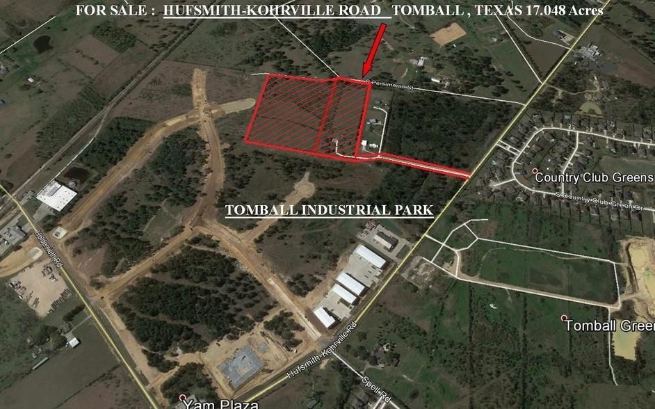 21517 Hufsmith Kohrville Road, Tomball, TX 77375