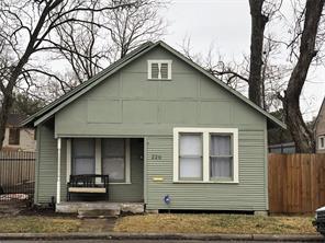 220 E 34th Street, Houston, TX 77018