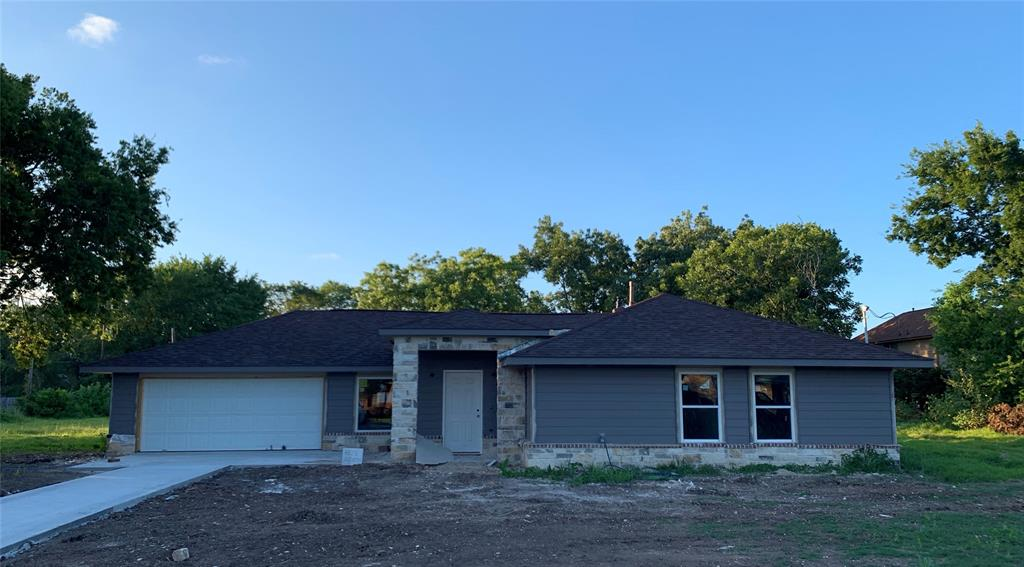 Come see this beautiful home that is being completely remodeled and finished at the end of this month. It is a show stopper with its Austin stone front and New stainless steel appliances, new tile flooring and new carpet.  Home was completely remodeled including the roof, A/C, plumbing and windows.  Huge family room and giant covered back porch.