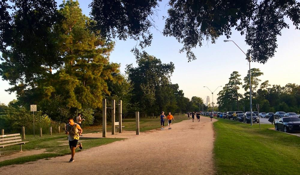 Enjoy all of the amenities of Memorial Park including the best jogging trail in Houston.
