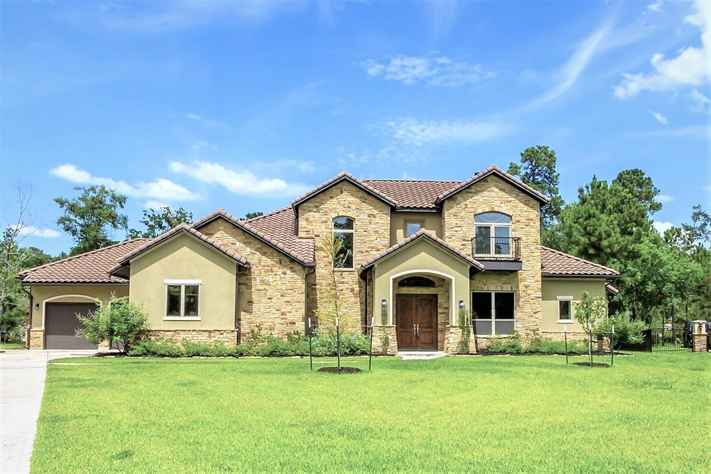 This BEAUTIFUL custom home in Benders Landing Estates sits on a one acre CUL-DE-SAC lot and features stunning travertine and hardwood flooring throughout. The wine cellar is a MUST SEE and the island kitchen is equipped with an impressive appliance package including a built-in ice maker, oven, microwave and 6 burner gas cooktop. You will love the MASSIVE 31 x 16 covered back patio which features an outdoor kitchen, walk-in smoker and a fireplace. This home was built energy efficient with spray foam insulation and 6 inch exterior walls.  Additional features include a 4 CAR GARAGE, water softener, surround sound, walk-in attic space, coffee bar in the master bedroom and much more! Must be seen in person to truly appreciate the DETAILS and BEAUTY. Neighborhood amenities include hike/bike trails, stocked lakes, parks, pool, splash pad, clubhouse, fitness center, basketball and tennis courts, soccer and baseball fields. Welcome home!