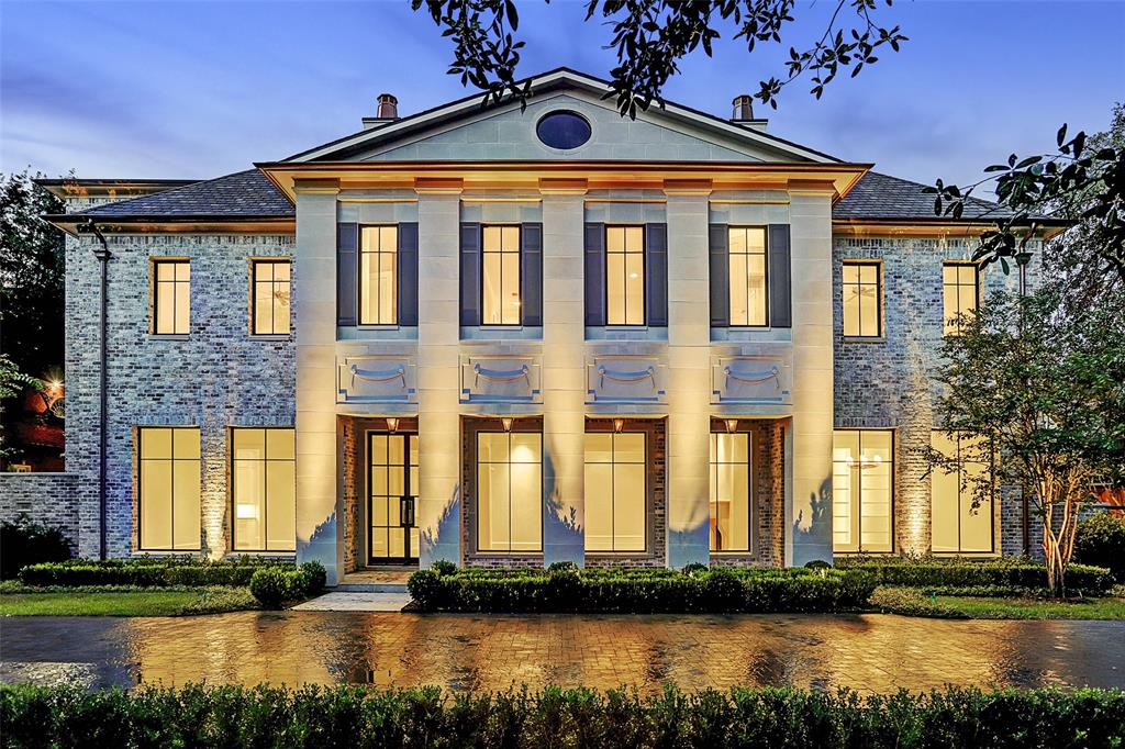 Set on nearly half an acre is this newly constructed legacy estate by coveted Iraj Taghi Custom Homes. The nearly 10,000SF home is brimming with classic details & chic modern comforts ideal for everyday living & gatherings. The grand-scale interior space boasts high ceilings, contemporary fixtures, statuary stone finishes & floor-to-ceiling windows in every room, offering abundant natural light. The main home consists of 3 appointed levels with 6 bedrooms (1 suite down), 7 full & 2 half baths, a second level game-room and private lodging quarters atop the 3-car garage. Interiors host a chef selected kitchen, multiple formal & informal living areas, private study, the Great Room & a centrally positioned bar with climatized wine cellar. A secluded master suite is garnished with a window lined sitting area, showroom bath clad in marble walls, dual vanities, substantial closets & a deep soaking bathtub. Outdoor living with kitchen, manicured yard canopied by mature Oaks, heated pool/spa.