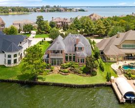 This home sits on the exclusive and private Benthaven Isle in Bentwater.