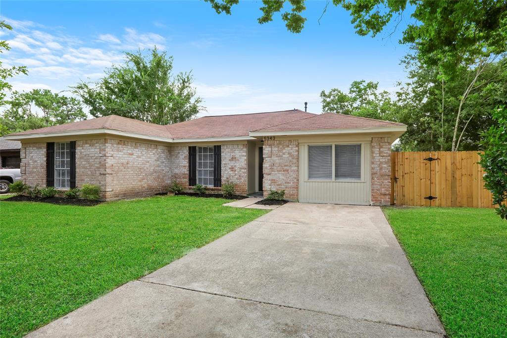 5343 Castlecreek Lane, Houston, TX 77053