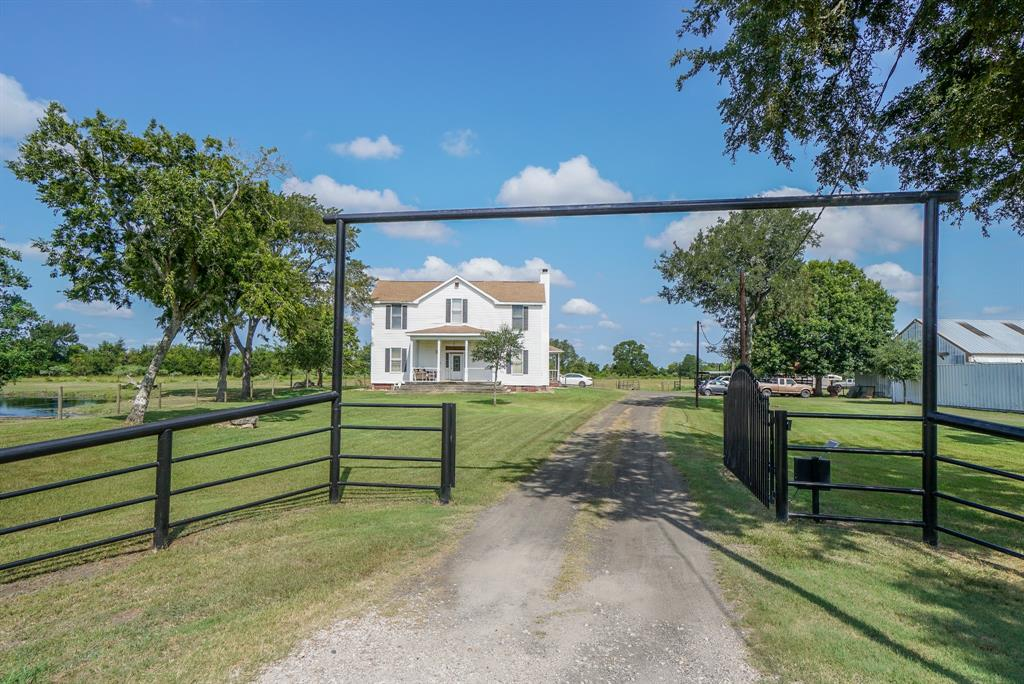 Beautiful home on 9 acres in Needville!