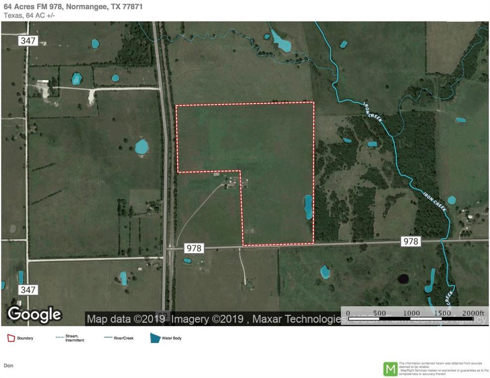 64 Acres Fm 978, Normangee, TX 77871
