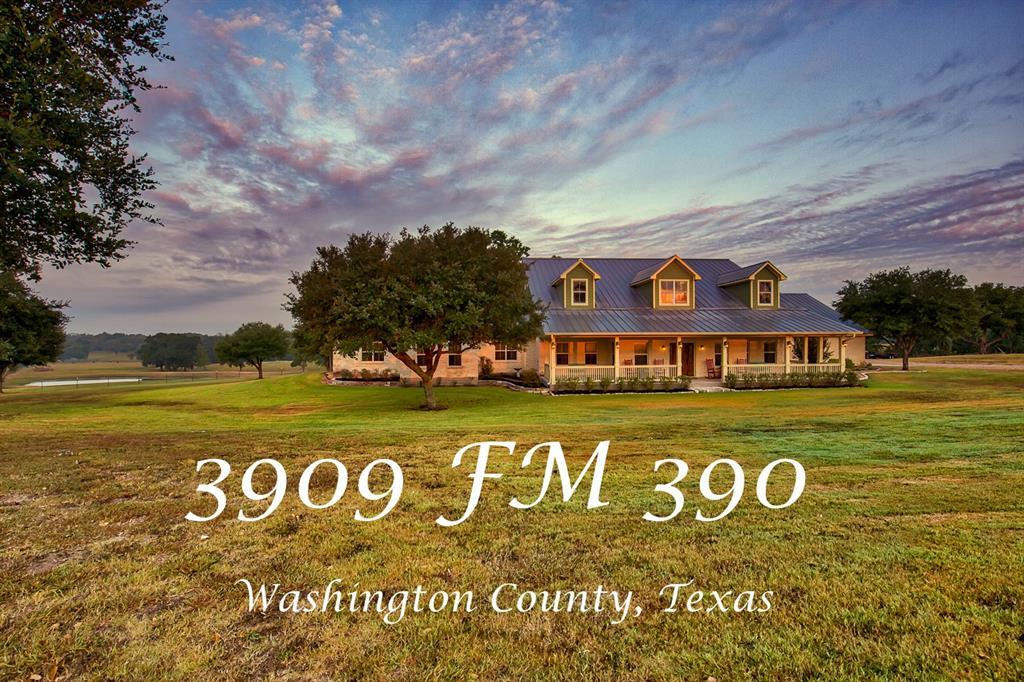 3909 FM 390, Brenham, TX 77833