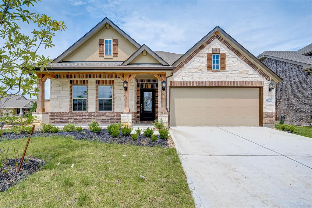 BEAUTIFUL BRAND NEW HOME ON A CORNER LOT. THIS HOME HAS NEVER BEEN LIVED IN. THIS 1.5 STORY HOME IS MOVE IN READY. OPEN CONCEPT THROUGHOUT THE FIRST FLOOR. KITCHEN HAS GRANITE COUNTERTOPS WITH GAS STOVE, DESIGNER CABINETS, 8X24 PLANK FLOORING.  ALL BEDROOMS ARE DOWN WITH THE GAMEROOM UPSTAIRS. THIS HOME IS WI-FI CERTIFIED WITH DOORBELL AND THERMOSTAT CONTROLLED BY ALEXA! LARGE BACKYARD, COME SEE THIS HOME SOON. PLEASE VERIFY ALL ROOM MEASUREMENTS AND SCHOOLS. IF USING GPS PLEASE TYPE IN LADERA CREEK TRACE IN CONROE TX.
