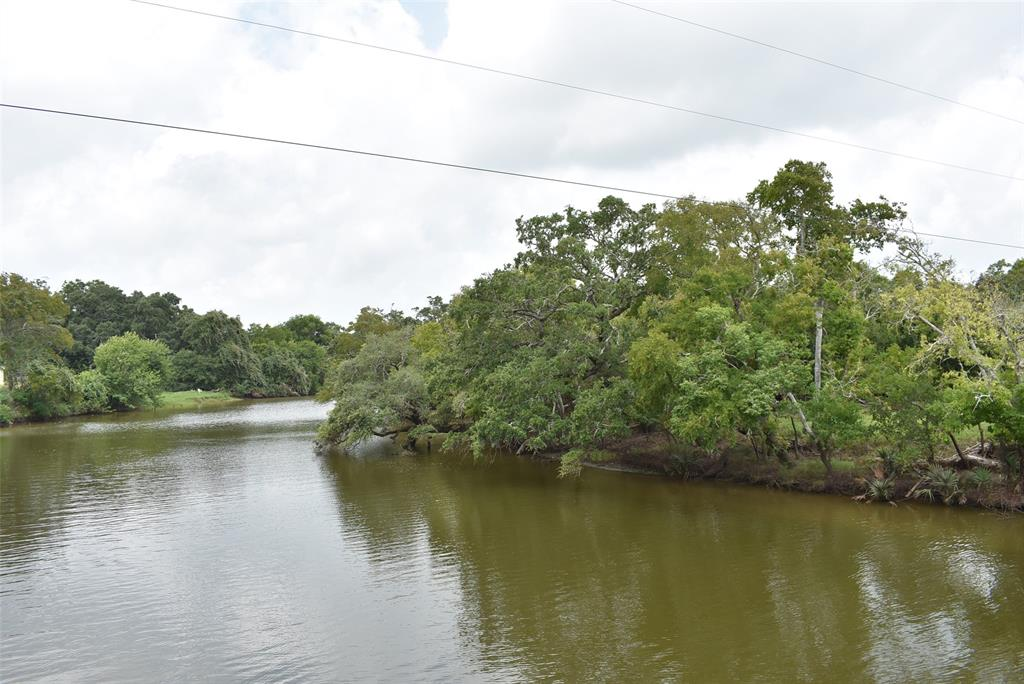 Endless Possibilities with this Waterfront Land.  Property is fenced on front and side and mostly thick woods.  Very secluded property to enjoy fishing and wildlife on your own piece of Paradise.  A short drive to Sargent Beach and the ICW.