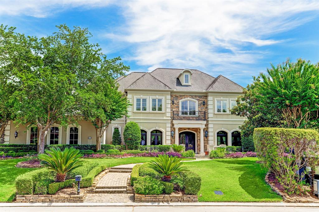 Stunning Executive Estate situated on a corner lot with only 1 neighbor and perched above the 9th fairway at Royal Oaks Country Club. Expansive open plan with beautiful views of the backyard resort like pool & rolling fairway. Rich marble floors & custom sweeping iron staircase usher into the foyer.Formal dining room for 10+,walk in/climate controlled wine grotto (@ 1,100 bottles) & wet bar,commercial grade gourmet kitchen w/ Wolf Appl.,formal living area w/ hand carved marble fireplace,views from almost every room at the 1st floor,secluded master retreat w/ bathroom suite,possible secondary bedroom down,pool bath,formal library w/ rich paneling & IT closet, flex/hobby room at second floor (opt. 6th bdrm),game room w/ balcony access + separate media room,planning station,dual staircases,covered loggia,summer kitchen,beautiful salt water pool/spa,4 car + golf cart garage and a generous motor court, breathtaking views nestled behind the Estate gates for ultimate privacy and relaxation.