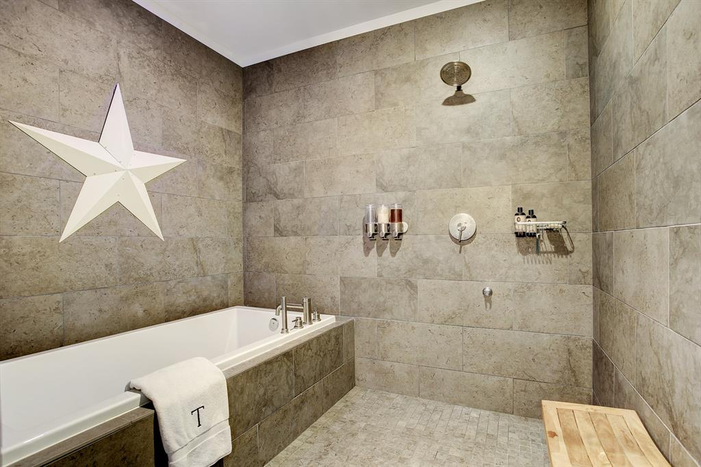 This is a shower ROOM, is bigger than many closets! Comparing it to a spa is not a stretch.