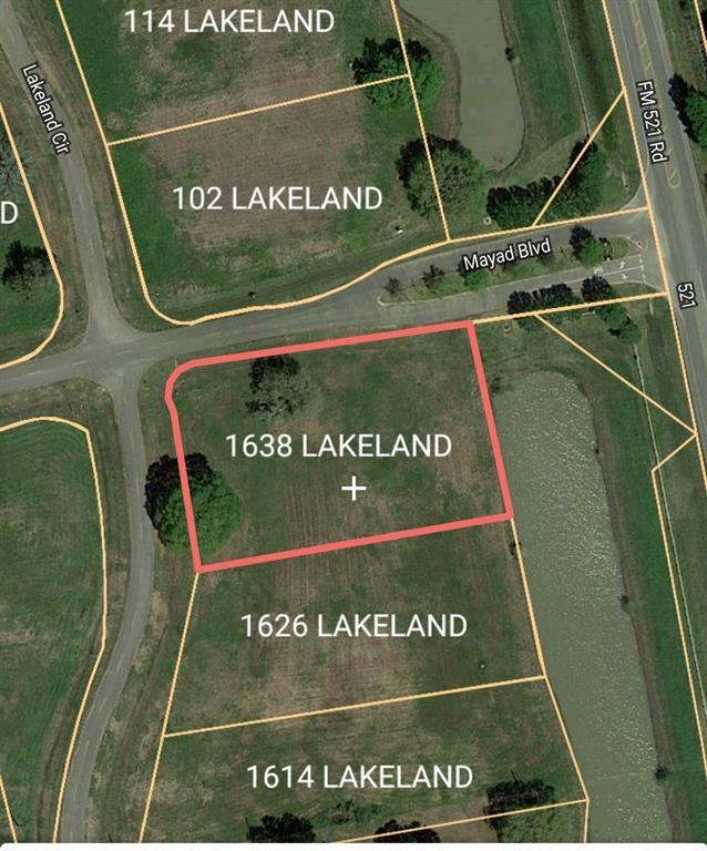 1638 Lakeland Circle, Rosharon, TX 77583