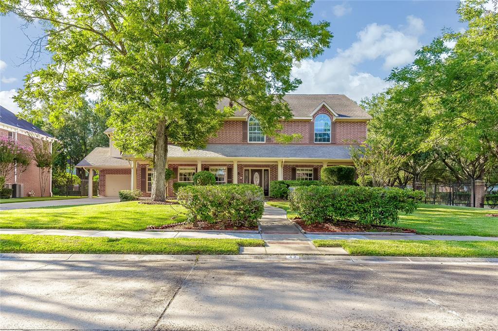 Corner lot no side or backyard neighbors & completely redone with over $100K in upgrades.  Newly installed wood flooring on first floor along with large tiles(no carpet on first floor). New GE SS appliances, home has been repainted. New wrought iron staircase, and wooden steps on both staircases, new carpet upstairs. New faucets, light fixtures, aged bronze door knobs, and new toilets. New granite counterops in kitchen & master bathroom. Newly installed tiles and frameless shower in master bathroom. Large walk-in his and her closets. Upstairs second master with balcony. Two game rooms a third floor media room and covered patio. Lots of countertop space and many cabinets for storage in kitchen. Water softener included. Large utility room for extra fridge, deep dish freezer. Zoned to: Clements HS, Ft. Settlement MS, and Commonwealth Elem. Home $70K below market price!