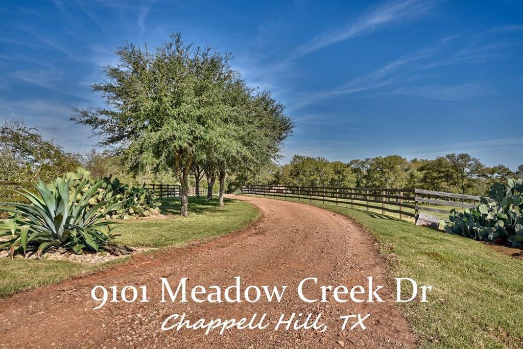 9101 Meadow Creek Lane, Chappell Hill, TX 77426