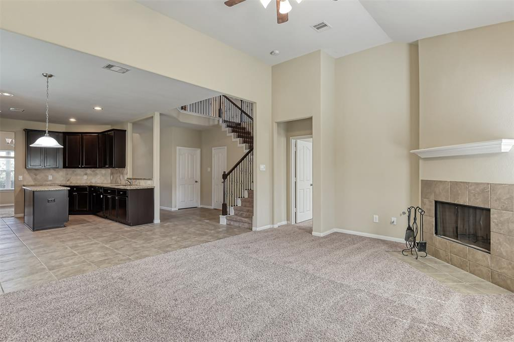 Great Location !!Beautiful house for rent. 4bed, 3.5 baths. 2 garages. Granite countertops. GE appliances, the refrigerator will be included. Iron staircase, gas cooktop, high ceiling. Master bedroom down, sprinkler system.