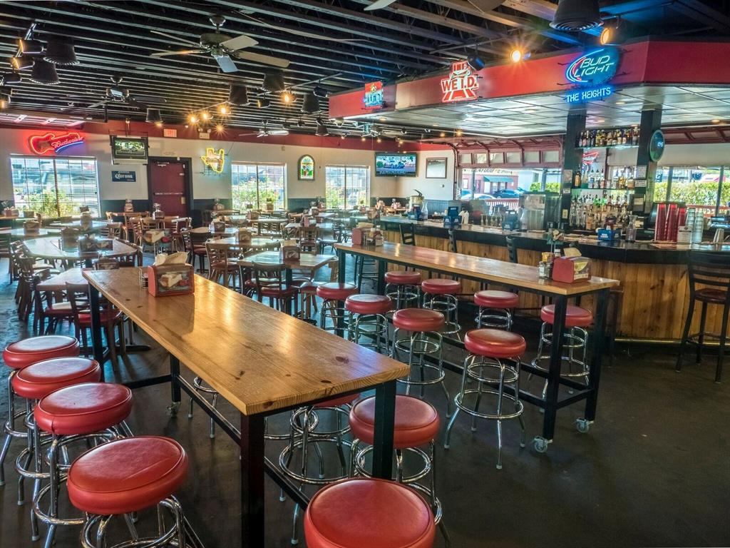 Enjoy lunch and dinner at nearby Jax Grill.