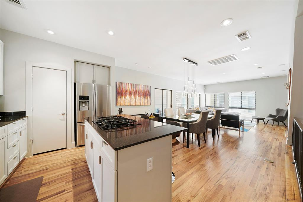 You'll love entertaining in this open floor plan.