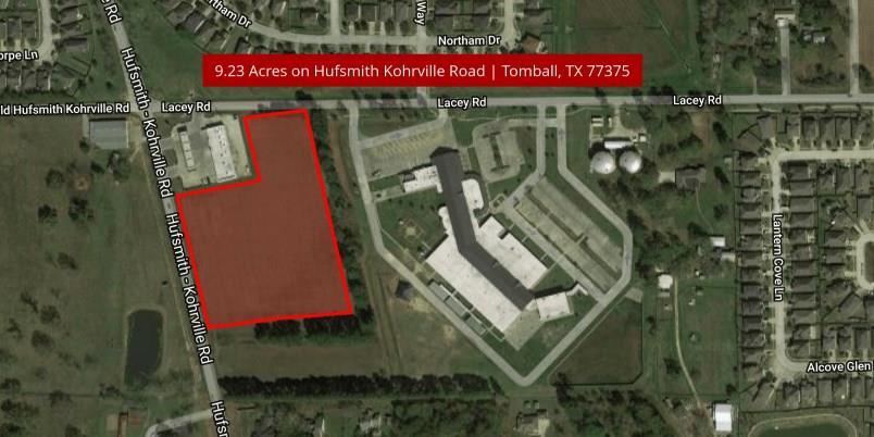 00000 Huffsmith-Kohrville Road, Tomball, TX 77375