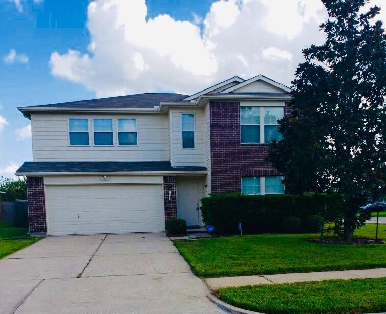 Gorgeous 4 bedroom, 2.5 bath Centex home on a large corner lot! Built in 2003, this beauty has NEVER FLOODED! Check out the HUGE the master suite, with a separate sitting/dressing area, spacious walk in closet, and and well appointed master bath. 4th bedroom can be used an optional game room (see floor plan). This well kept home has been completely renovated in 2019, with tons of upgrades. Brand new roof, new A/C system (furnace and condenser), freshly painted, new laminate dark wood flooring, porcelain tile, carpet, new light switches, tamper resistant plugs, and new light fixtures throughout! Kitchen has new backsplash, granite countertops, freshly painted cabinetry, hardware, faucet, and Whirlpool Stainless steel appliances.  All bathrooms have new vanities,  granite countertops, faucets, and toilets.  New ceiling fans, replaced security back door (2018), large backyard. All room sizes are approximate. This stunning home will not last long please call for a private showing!!!