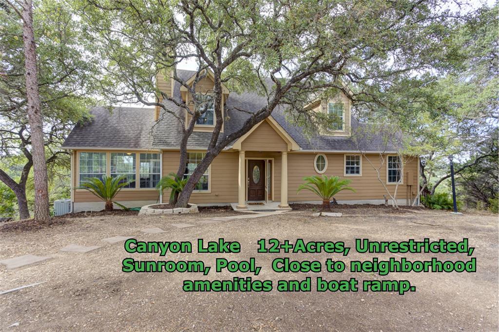 1790 Skyline Drive, Canyon Lake, TX 78133