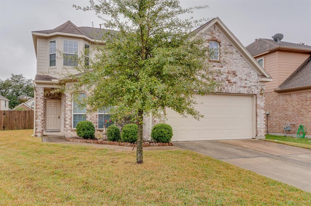 Spacious 4 bedroom plus LARGE gameroom on culdesac!  Large backyard! Rec Center and community pool right down the street along w access to Grand Parkway! Painted floors in garage too - Available Nov 1