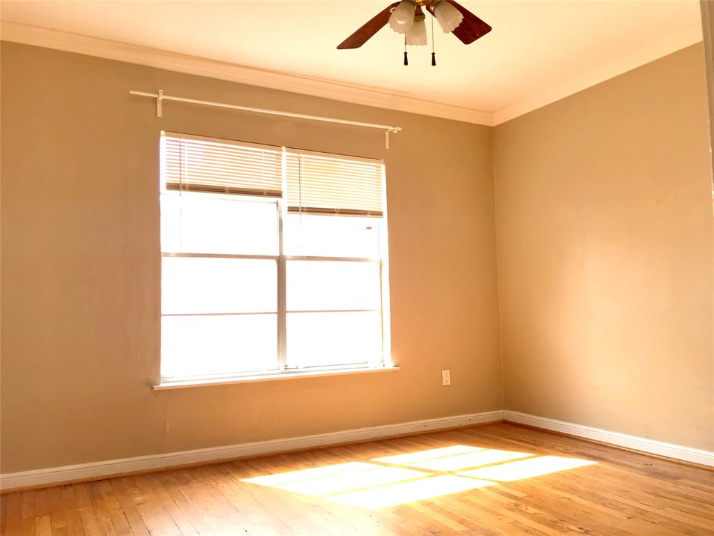Master bedroom located off living room. Includes a large walk-in closet and own private bathroom.