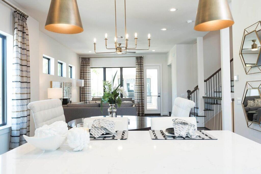 Brand new Construction in the heart of Washington corridor.  This beautiful 3 story showcases an open concept on the 2nd floor.  Perfect for entertaining.  Home features quartz countertops throughout.  Custom cabinetry.  GE appliances.  Study on the 2nd floor perfect for an office.
