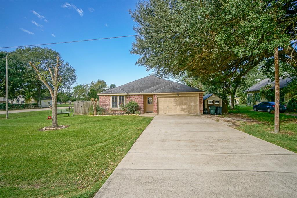 Welcome to Orchard TX- Are you looking for that small town atmosphere, but still want to be close to the amenities of the city?  This 3 bedroom 2 bath house located on a large corner lot will not disappoint.  House has a large master bedroom with a massive walk-in closet. The backyard has a fantastic covered patio to enjoy your large fully fenced yard. Fresh paint and updated lighting fixtures throughout.  HVAC and carpet replaced in 2017. Schedule your showing today!!