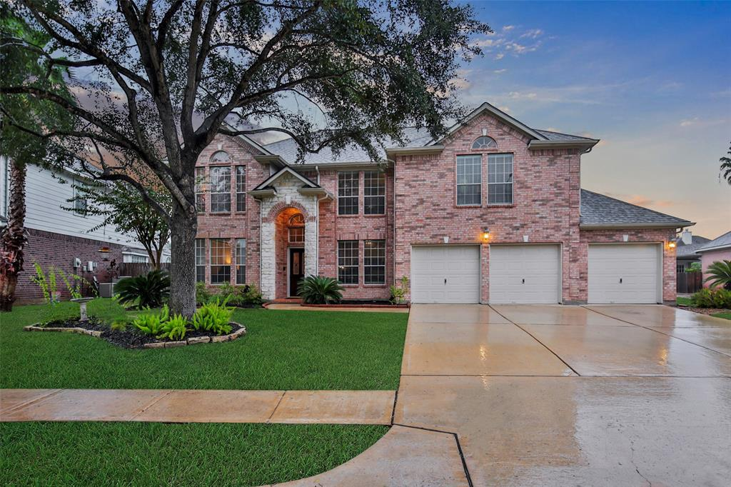 Fabulous Home in the Gated Community of Canyon Gate at the Brazos! This Gorgeous Home Sits in a Cul-de-Sac, Offers Great Curb Appeal, & is Super Clean & Well-Cared for. Features Include - 3549 sq ft, Fantastic Floorplan, 5 Bedrooms, 3 Full & 1 Half Baths, Lots of Windows for Natural Light & Scenic Pool Views, Private Study, Island Kitchen w Gas Cooktop, a Huge Family Room w Corner Fireplace, Formal Living/Dining Rooms, Master Suite w Door to Backyard, Beautifully Updated Master Bath, Gameroom Up, Utility Room w Sink, Bonus Storage Under Staircase, Abundant Architectural Detail, & More! The Backyard is an Oasis Offering a Beautiful Sparkling Pool & Spa, Lots of Patio Space & Pool Decking, Ample Greenspace, & Huge Sideyards. Other Details Include 2019 Roof, Sprinkler System, 3-Car Garage w Finished Out Attic Space & Pully for Moving Heavy Items into Storage, Storage Racks, Door to the Backyard, & a Triple Wide Driveway! R/W/D Incl! Zoned to Top Lamar Schools! NEVER FLOODED! See it Today!