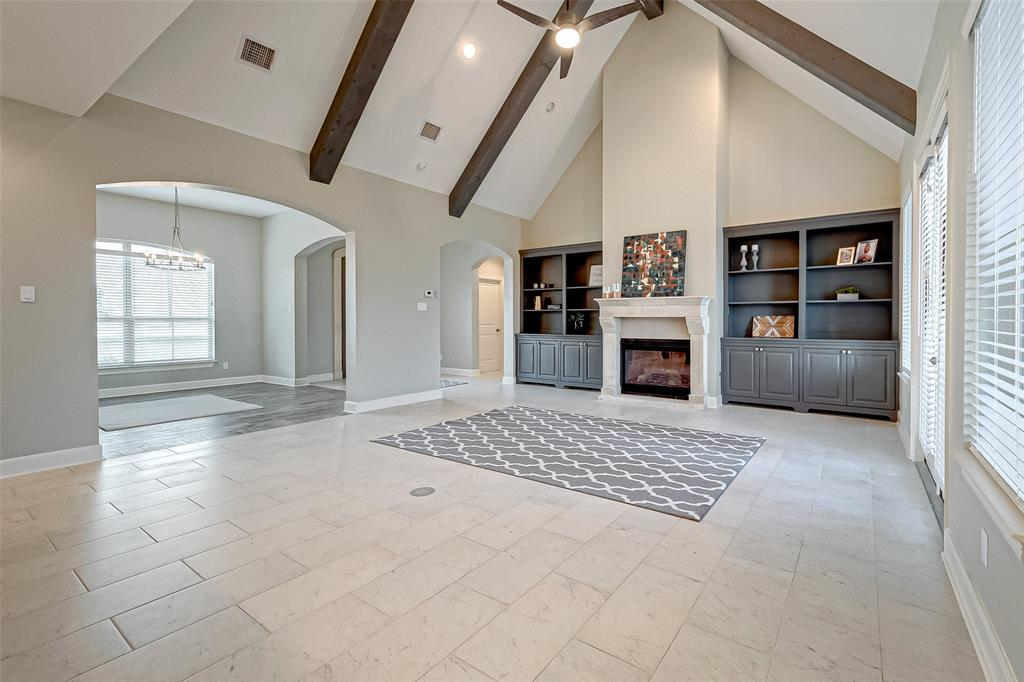 This gorgeous CUSTOM home on ONE ACRE in Needville is ready for new owners! This home has been lovingly built by the owner/builder and offers tons of updates for you and your family and friends to enjoy. The open concept greets you as you enter the home. The soaring ceilings and natural light add to the ambiance, and the stone fireplace and built-in cabinetry with its lovely color scheme is icing on the cake. Ideal tile flooring throughout all the living areas. Enjoy family meals in the large formal dining room. Upstairs you will find a HUGE gameroom, which could also be an in-law suite or bedroom because it features a full bath! There is TONS of storage in this home also with big closets throughout and an oversized garage. Gorgeous soft-close cabinetry in the kitchen and baths. The back patio has a gas fireplace to enjoy on cool evenings..the perfect spot to watch your favorite sports game! With an acre of property, there is plenty room here for a shop. Call today to schedule an appt!