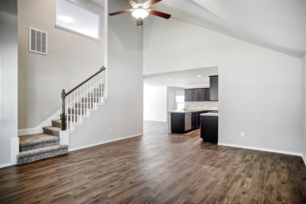 New Construction Home! Everything is new. Open space concept, 4 bedrooms, 2.5 baths, 2 garages, game rooms upstairs and study. Very cozy and charming floor plan. Nice landscaping ready to move today.