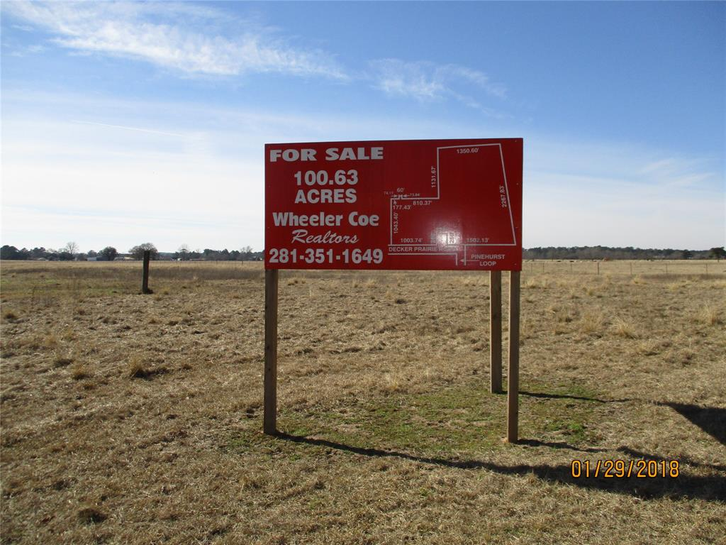 TBD Decker Prairie Road, Magnolia, TX 77355